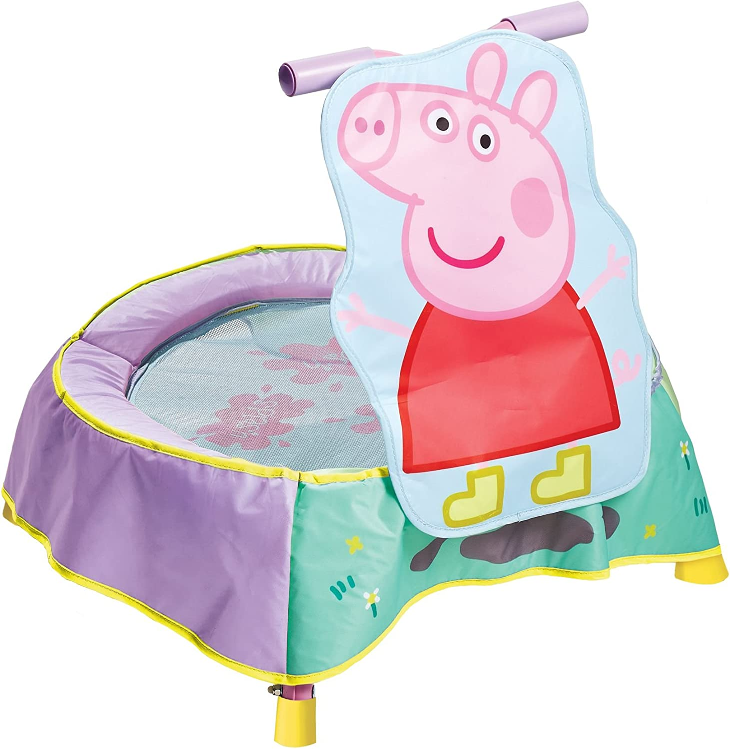 Kid Active Trampolín Infantil con diseño Peppa Pig (Worlds Apart 304PED)