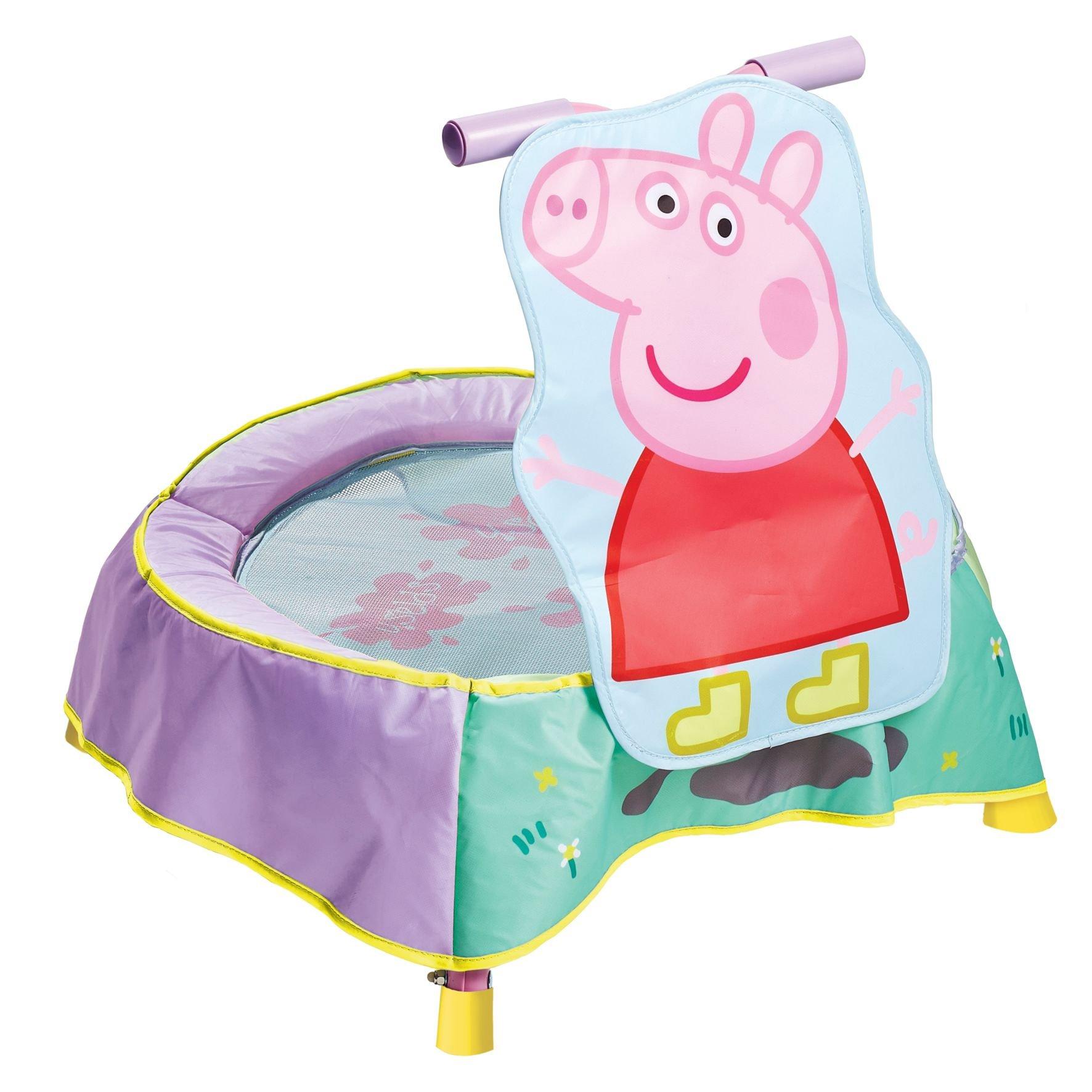 KidActive Peppa Pig Indoor Childrens Toddler Trampoline