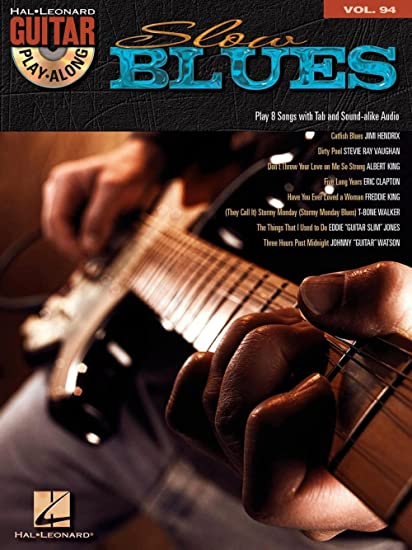 Guitar Play-Along Volume 94: Slow Blues (Book/CD). Partituras, CD ...