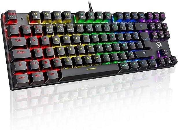 Clavier mécanique RGB Pictek
