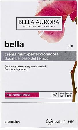Bella Aurora Bella Crema Facial Día Hidratante Mujer Anti-Edad para Piel Normal o Seca Tratamiento para la Cara Anti-Manchas SPF 20, 50 ml