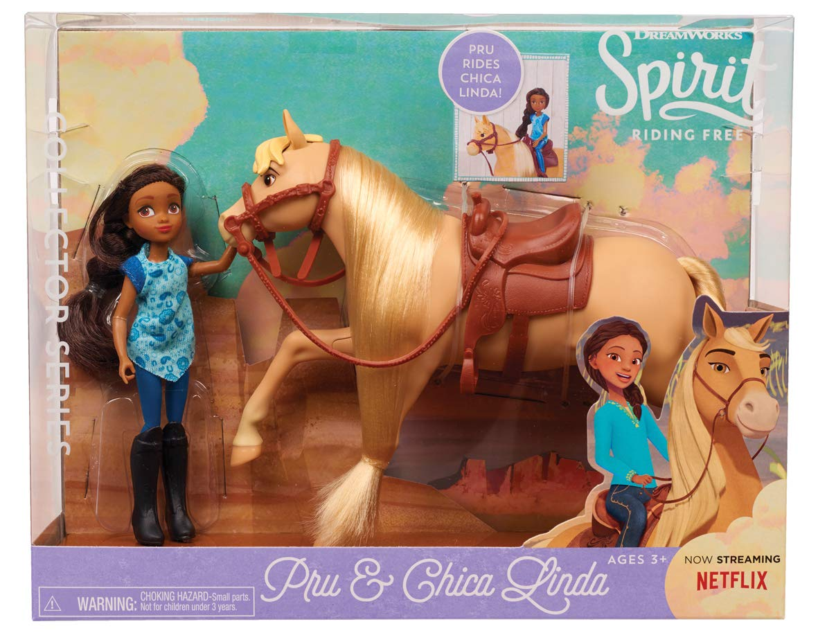 Cheval et Chica Linda JP Spirit Nylon//A Poup/ée et Mini-Poup/ée JPL39240 Classique