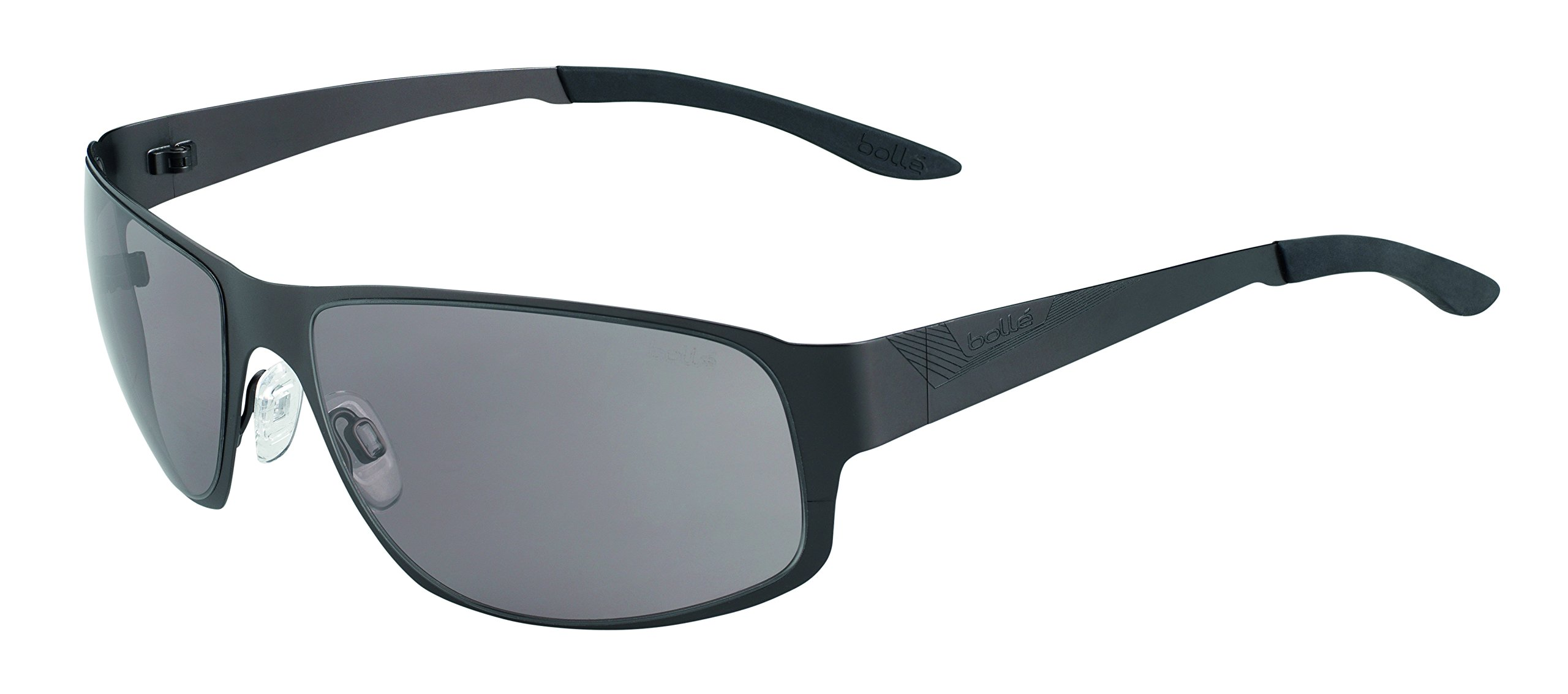 Bolle Auckland Sunglasses Matte Gun, Smoke by Bolle