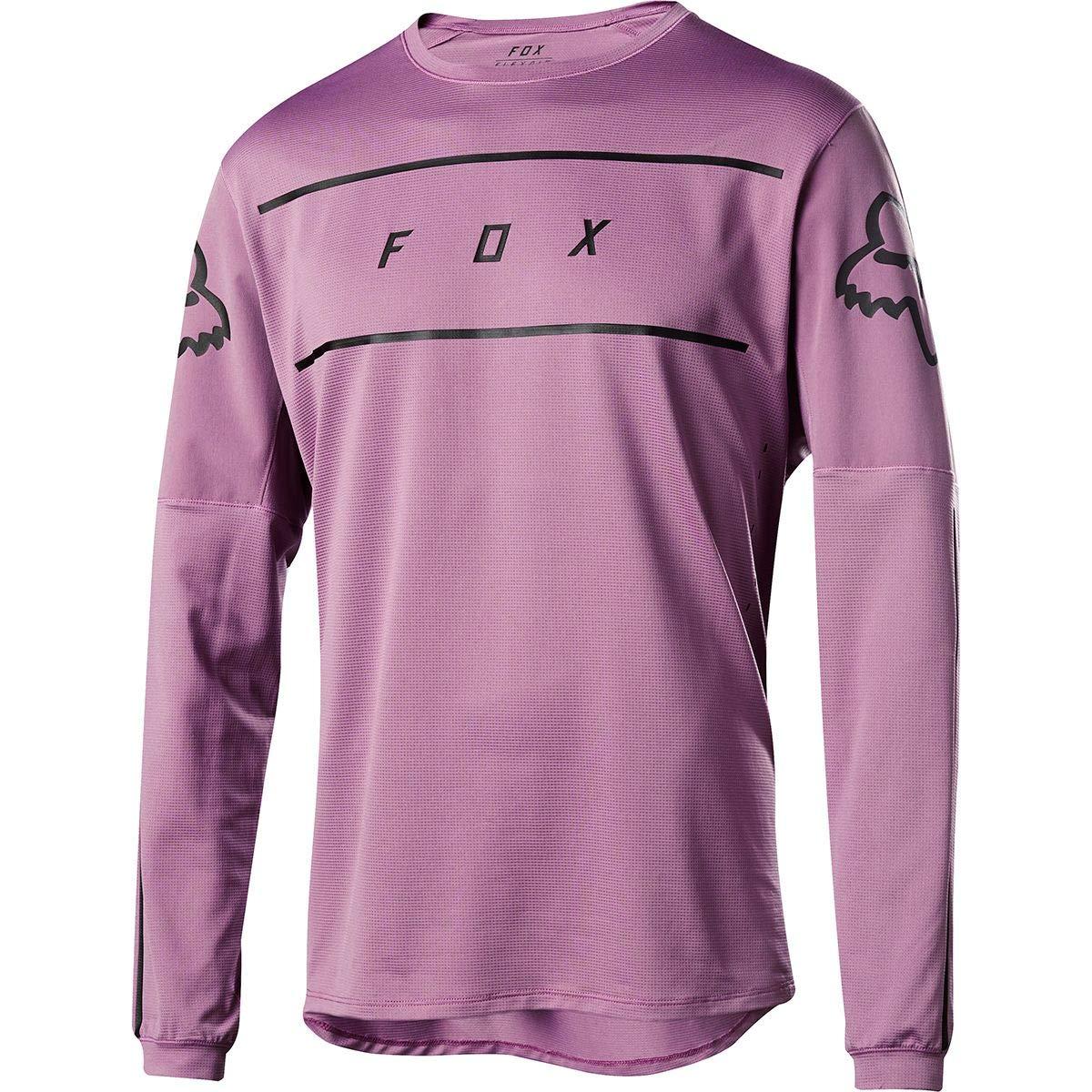 Fox Racing Flexair Fine Line Long-Sleeve Jersey - Men's Purple Hz, XXL by Fox Racing
