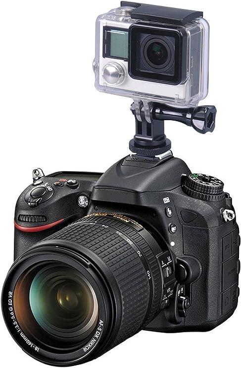 3pcs 1//4-20 Tripod Screw to Flash Hot Shoe Mount Adapter for Canon Nikon DSLR Camera