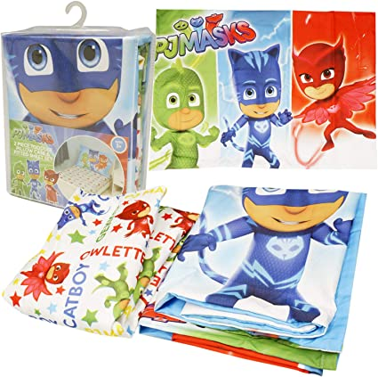 Disney Jr Kids PJ Masks - Sábana Bajera Ajustable con Funda ...