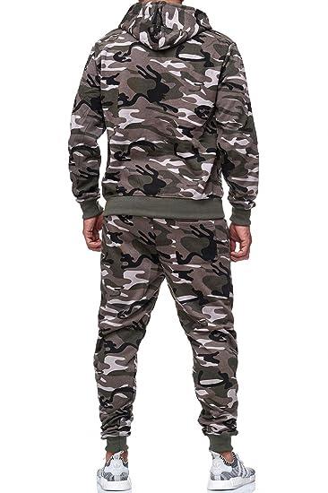 b986abc23ce1a Game Herren Jogginganzug Camouflage Anzug Set Army Sportanzug Trainingsanzug