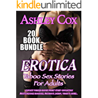 Erotica Taboo Sex Stories For Adults: 20 Book Bundle: Explicit Forced Rough Short Story Collection – Brats, Menage Romance, Bicurious, Daddy, Virgin & More...