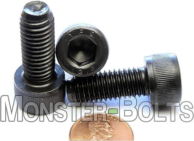 Qty 10 10mm x 1.50 x 25mm SOCKET HEAD Cap Screws Black Oxide Class 12.9 M10