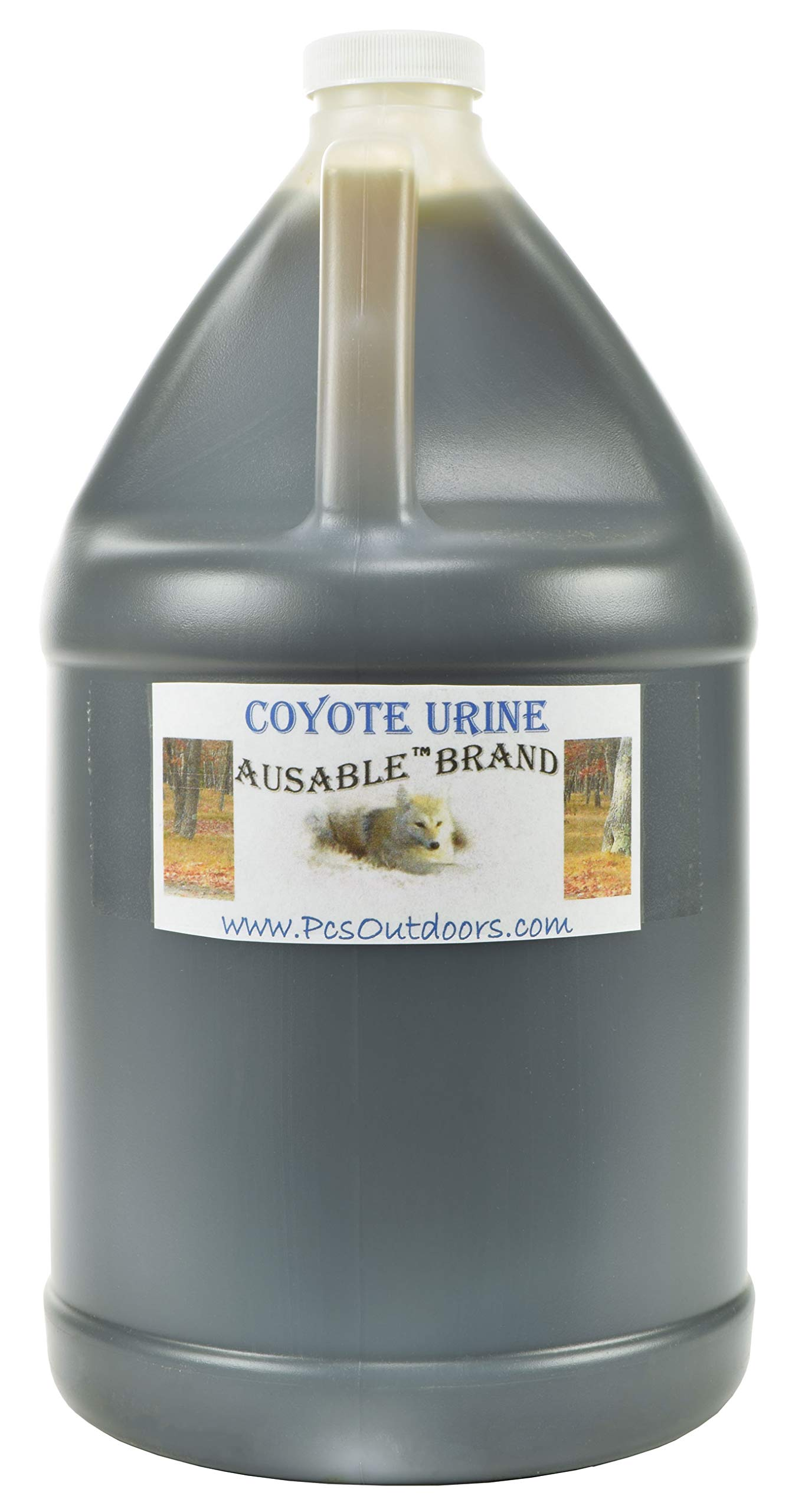 AuSable® Brand Coyote Urine 1 Gallon of Pure Coyote Urine by AuSable Brand
