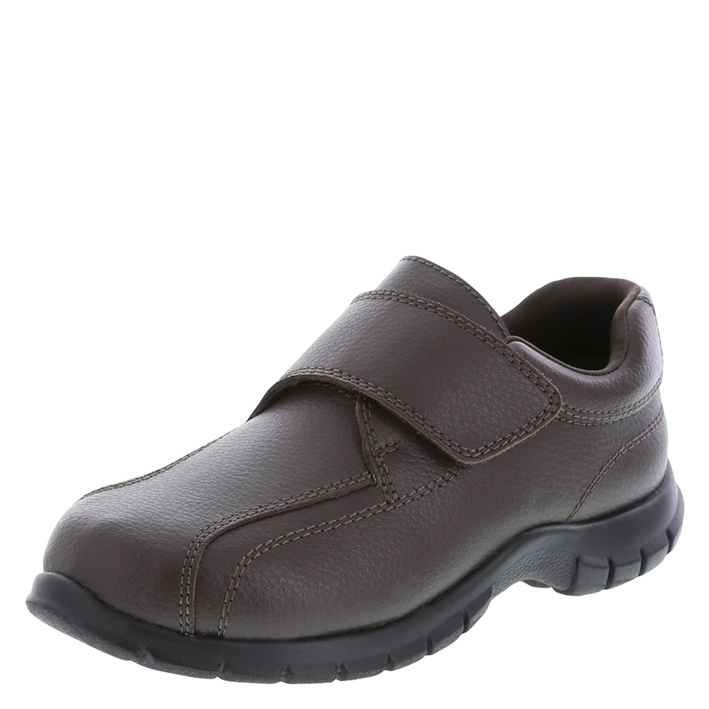 SmartFit Brown Boys' Leather Monk Strap Casual 13 Regular