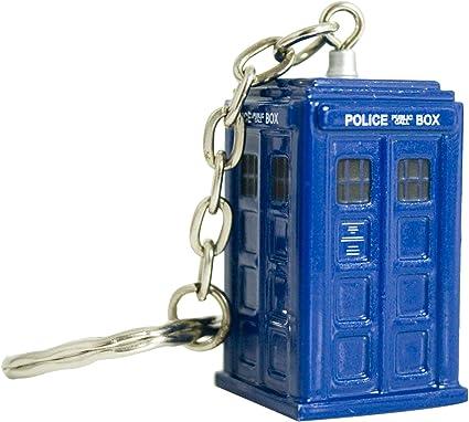 Amazon.com: Doctor Who Tardis Die Cast – Llavero Llavero ...