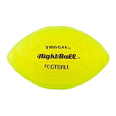 Nightball Tangle LED Light Up Football Green: Toys & Games