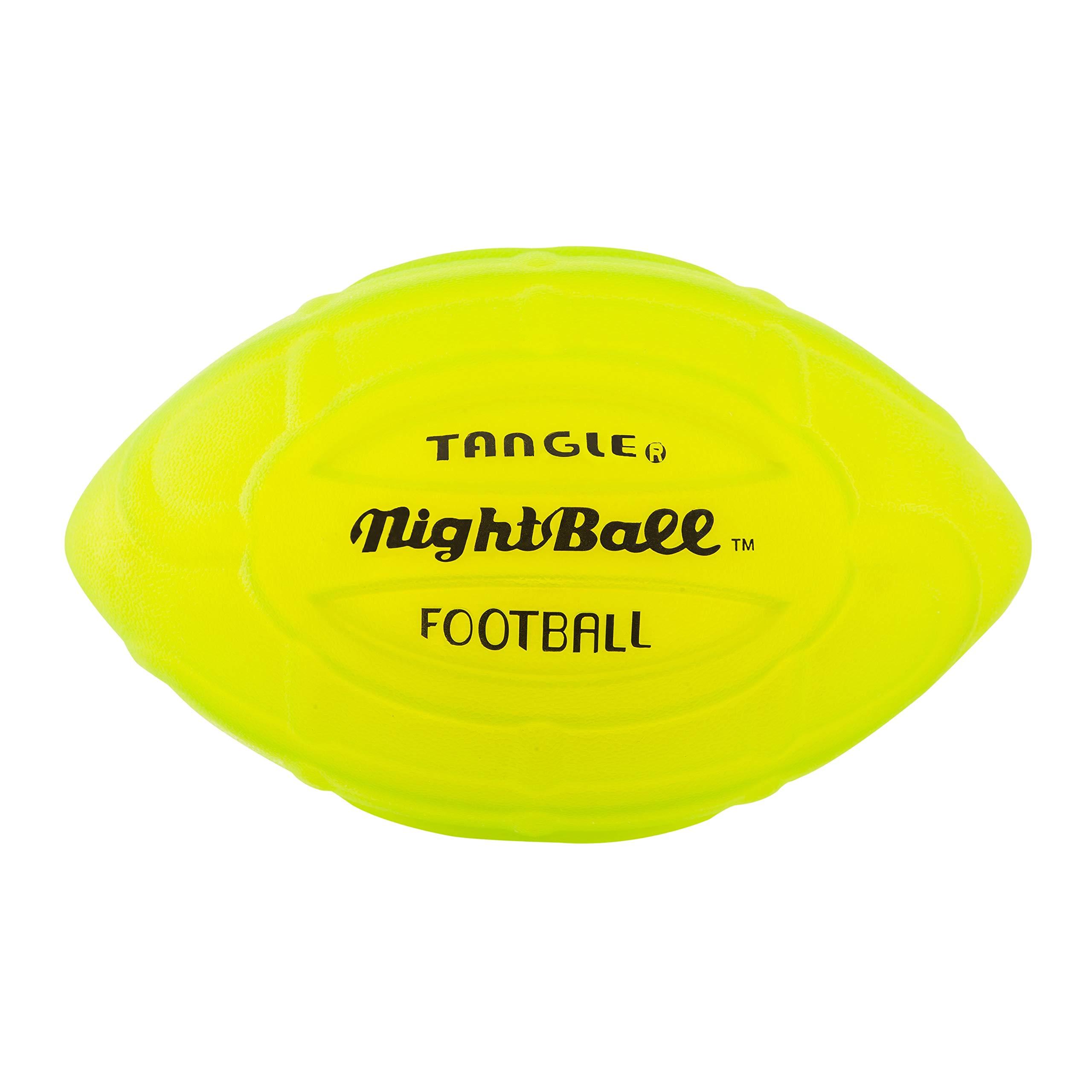 Tangle NightBall LED Light Up Football Green by Nightball