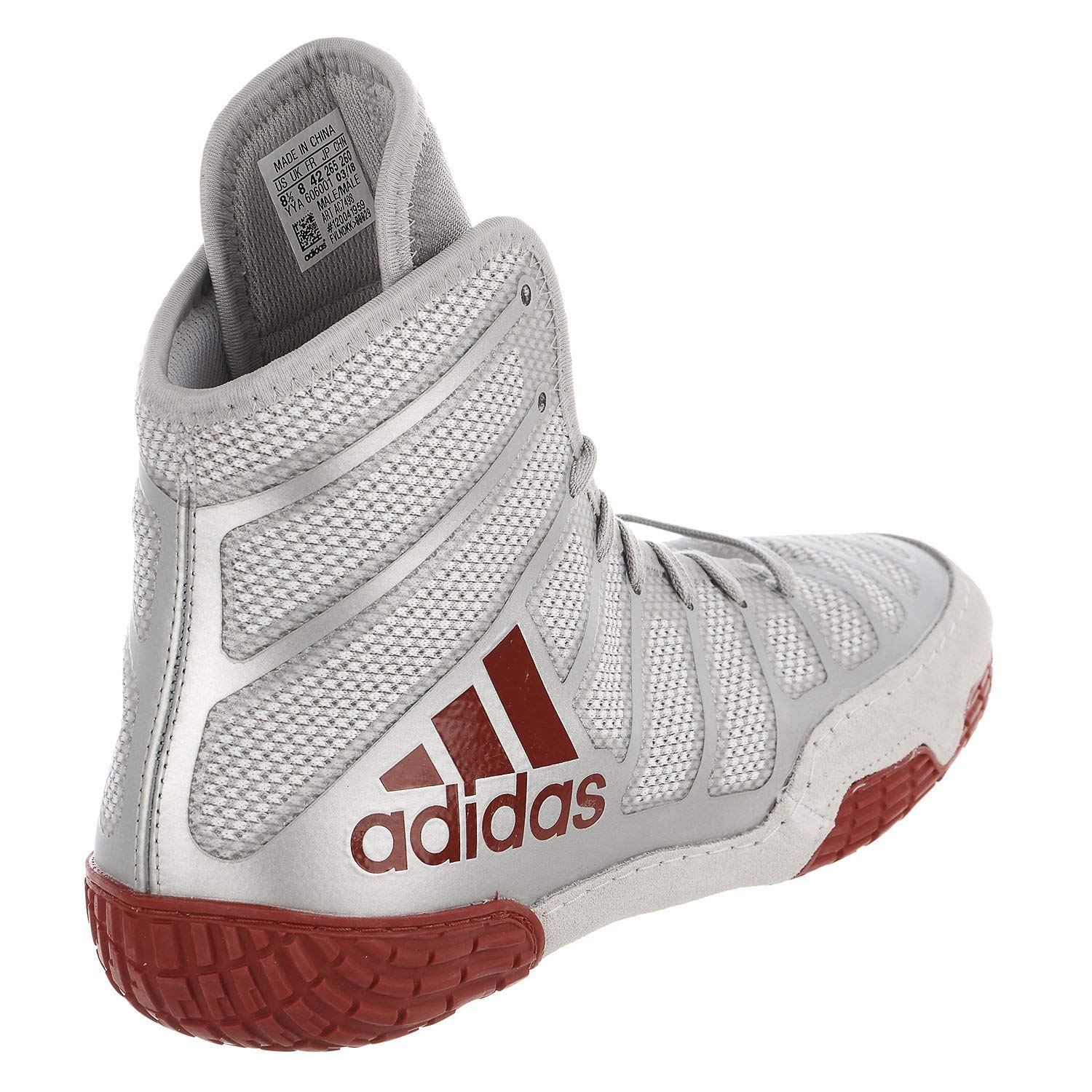 finest selection 4d7d0 e9792 Amazon.com  adidas Mens Adizero Varner Wrestling Shoes, RedSilverRed,  Size 15  Wrestling