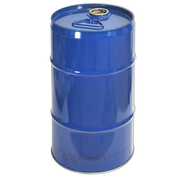 Tambor de metal, tonel metálico, azul 30 L (23028): Amazon.es: Bricolaje y herramientas
