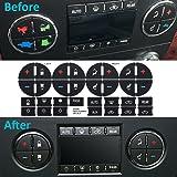 4PCS AC Dash Button Repair Kit & Radio Button