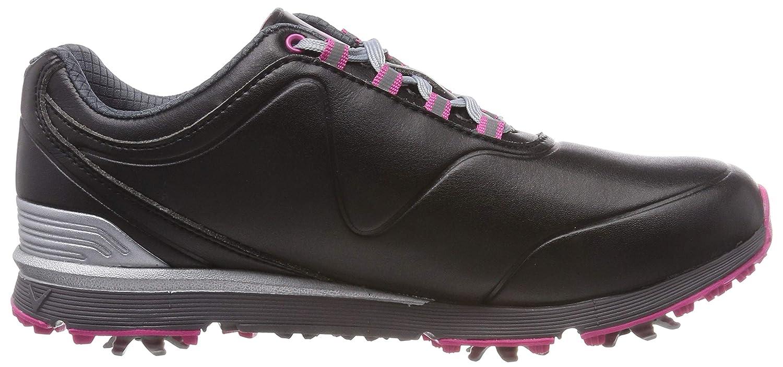 Callaway Damen Lady Mulligan Golfschuhe schwarz (Schwarz / Pink) Pink) / b6fa3d