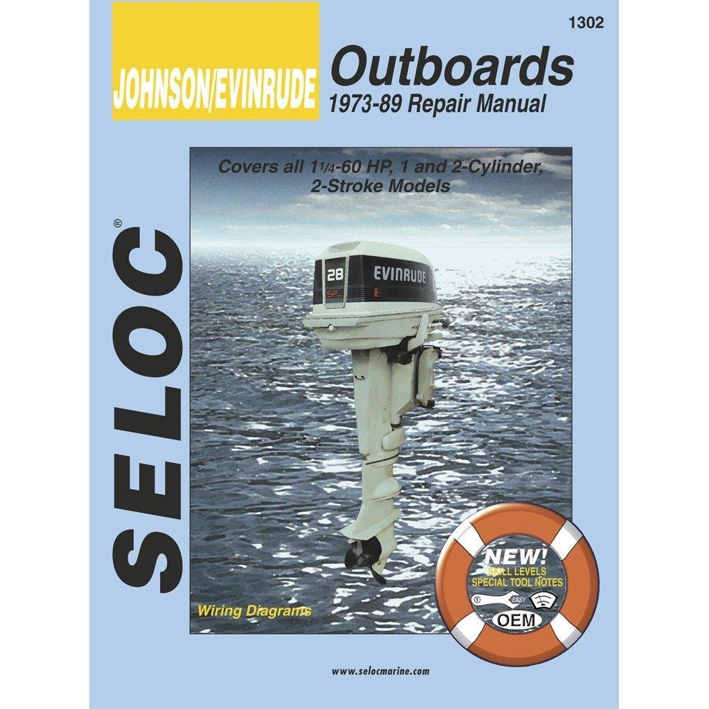 Amazon.com: Seloc Service Manual - Johnson/Evinrude - Outboard - 1973-89 -  1-2 Cyl: Sports & Outdoors