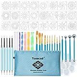 53PCS Mandala Dotting Tools Set for Painting Rocks,Mandella Art and Drafting Art Supplies.