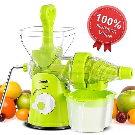 Kitchen & Dining Kitchen Utensils & Gadgets Hand Cold Press Juicer ...