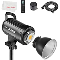 GODOX SL-60W LED Video Light 5600K White Version Video Light Continuous Light Bowens Mount for Studio Video Photography