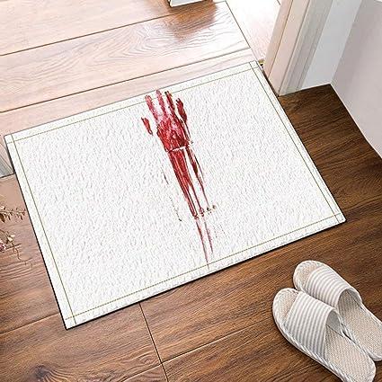 Amazon Bloody Handprint With Streaks On Bathroom Tiles Bath