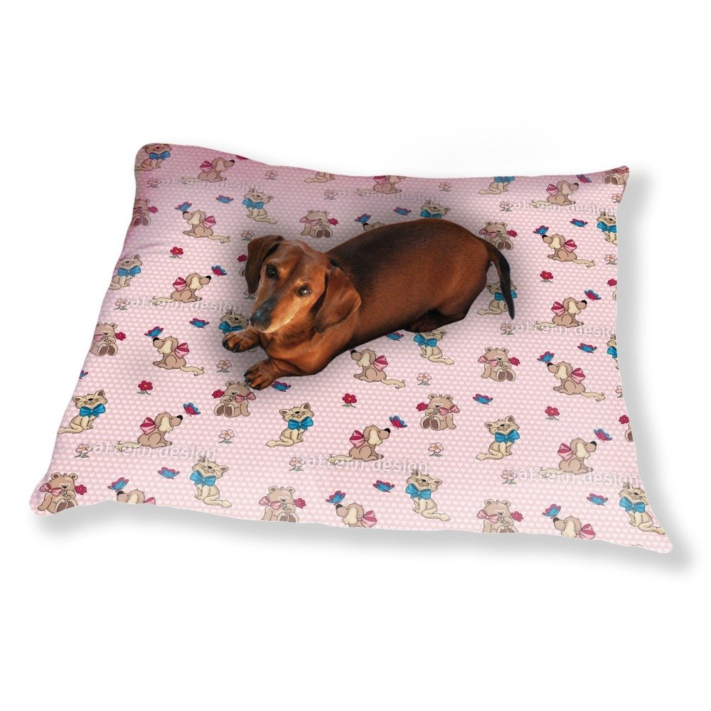 Cute Cuddly Animals Dog Pillow Luxury Dog / Cat Pet Bed