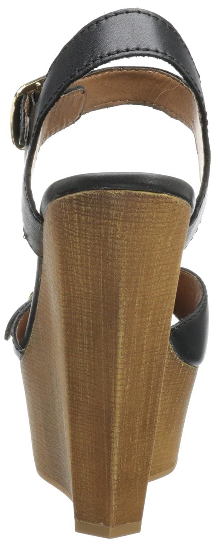 Steve Steve Steve Madden Breeann Damen US 10 Schwarz Keilabsätze Sandale 10f754
