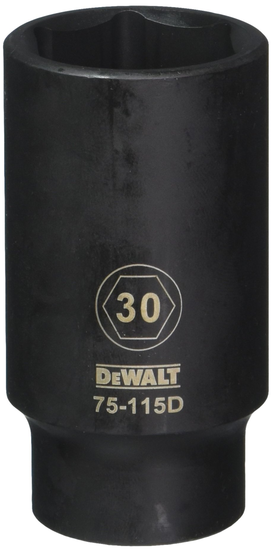 DEWALT DWMT75115OSP 6 Point 1/2'' Drive Deep Impact Socket 30MM