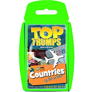 Amazoncom Countries Of The World Top Trumps Card Game - Countries of the world game