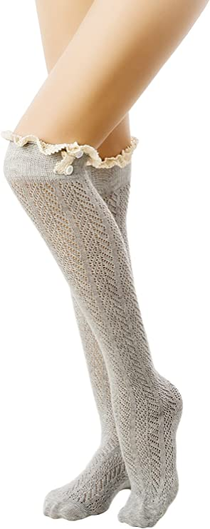 iB-iP calcetines de encaje estilo japonés