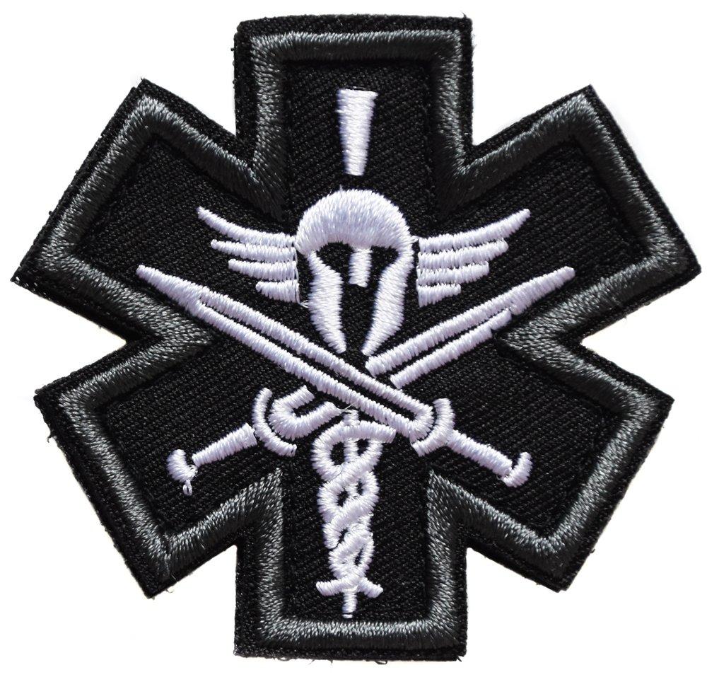 spartan spartiate grec guerrier epé e bouclier grece ecusson 6cm patche badge topt mili