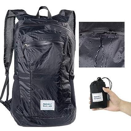 Amazon.com   Rainleaf Ultra Lightweight Packable Backpack Water ... 792e5a7233803