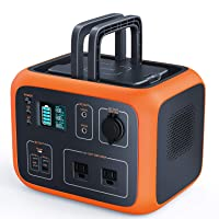 TACKLIFE P50 500Wh Portable Power Station Solar Ready Battery Generator with Pure...
