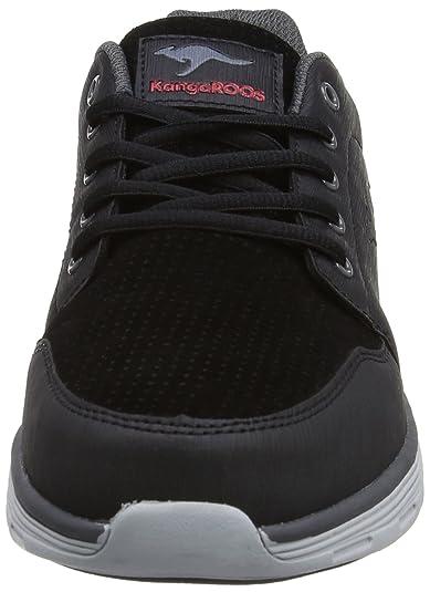 KangaROOS K LtMan 7010, Herren Sneakers, Schwarz (blackgrey