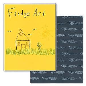 """StoreSMART - Refrigerator Art Full Back Magnetic Frames - 3-Pack - 8 1/2"""" x 11"""" - H32306-RA-3"""