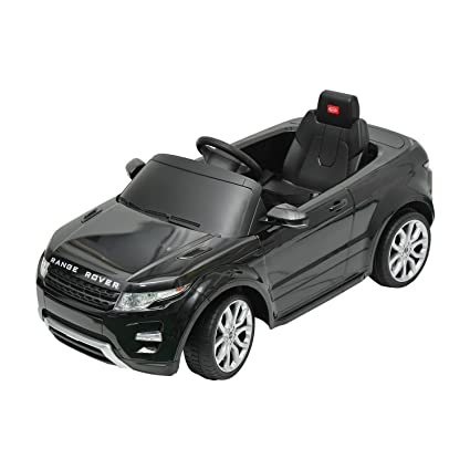 amazon com land rover evoque kids 6v electric ride on toy car w rh amazon com rover rancher ride on manual rover rancher ride on mower manual