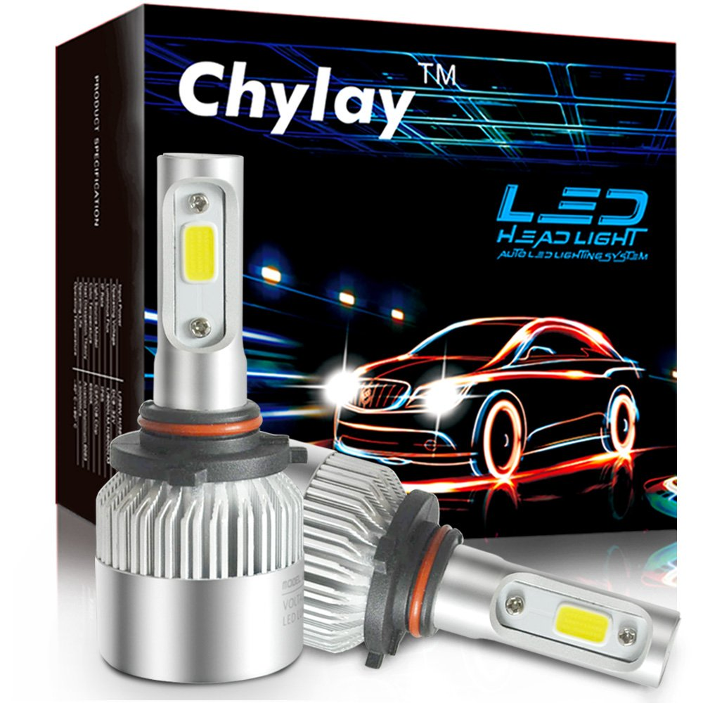 LED H4 Cool White Headlight Motorcycle 3030 Hi-Lo Beam Light Lamp Bulb 6500K UK
