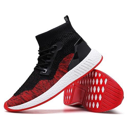 beautyjourney Scarpe Antinfortunistiche estive Uomo Scarpe Uomo Sneakers Scarpe  da Ginnastica Uomo Scarpe da Corsa Uomo 47ea3cee7db