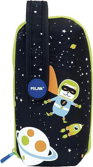 Milan Kit 4 Estuches con Contenido Super Heroes Space 1 Estuches, 22 cm, Azul: Amazon.es: Equipaje