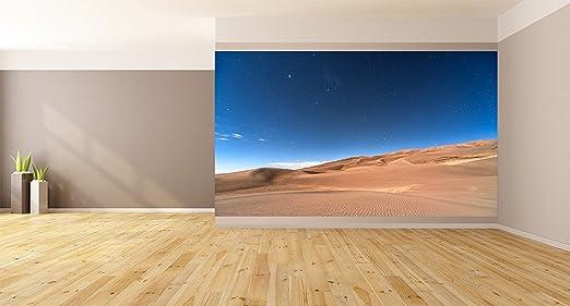 Amazon Com Desert Landscape Removable Wallpaper Wall Decor Custom Design Wall Mural 96 X96 Home Kitchen
