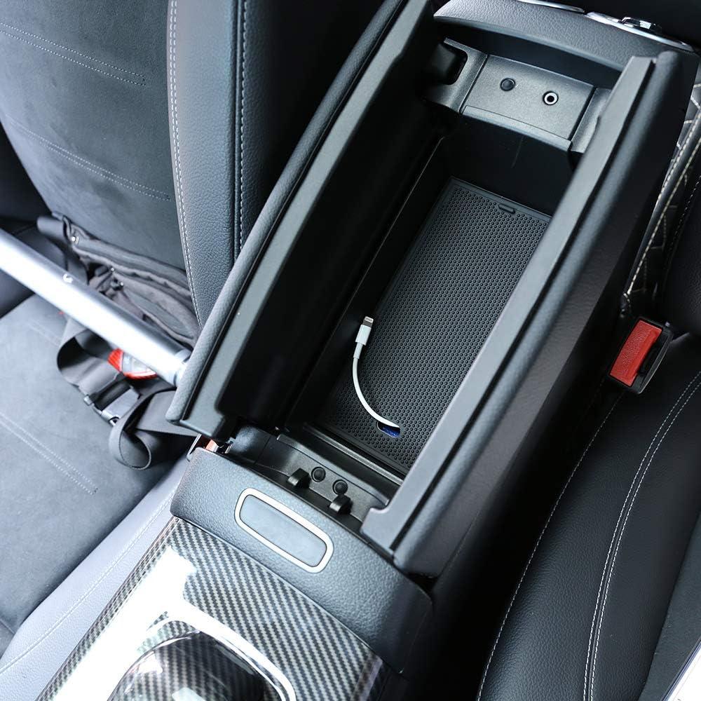 D28JD Vano portaoggetti del bracciolo portaoggetti allInterno per Mercedes-Benz 2019 Nuova Classe A//GLB