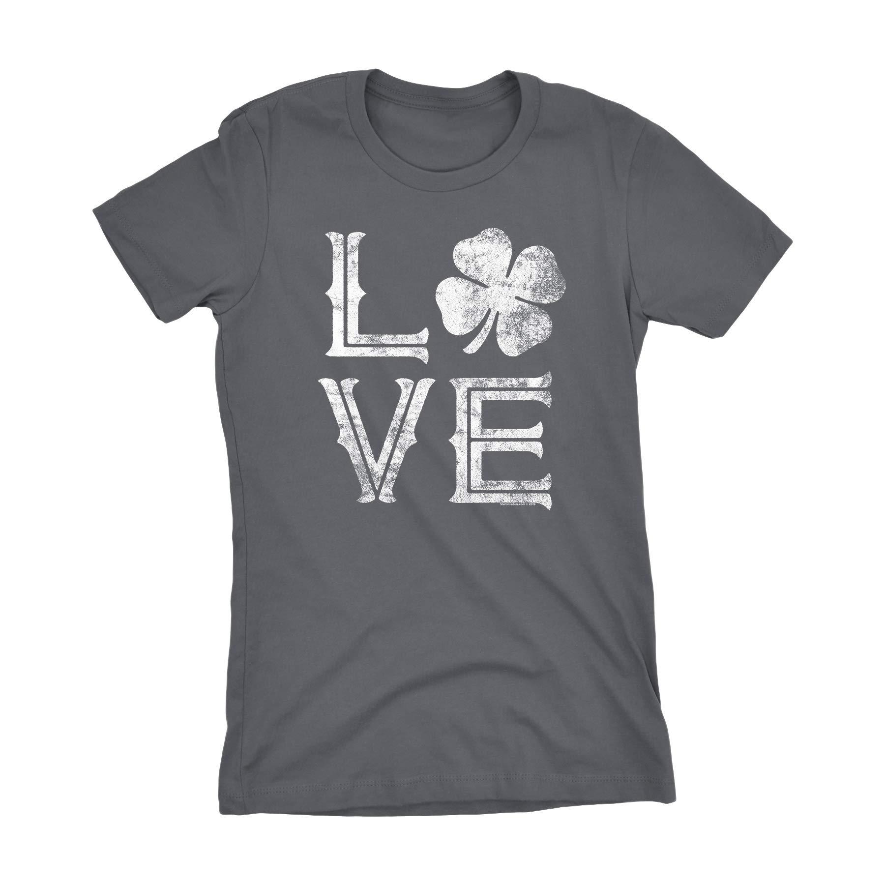 St Patricks Day Irish Shirt Love Shamrock Clover
