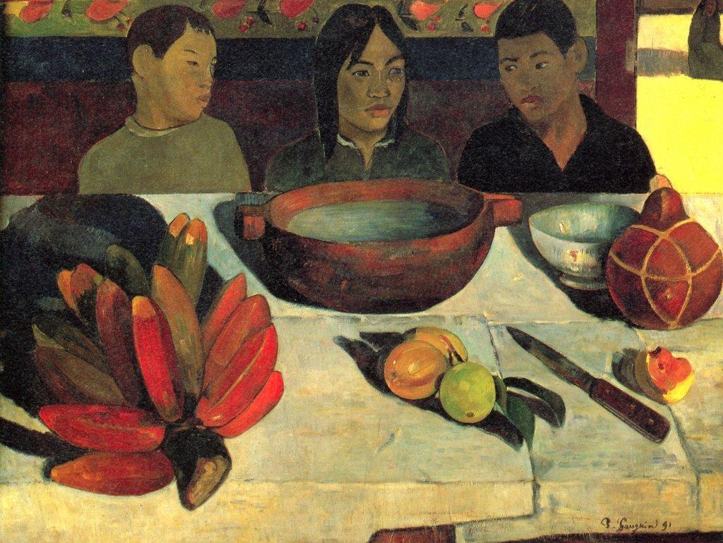 Lais Puzzle Paul Gauguin - Die Mahlzeit (Stilleben mit Bananen) 2000 Teile