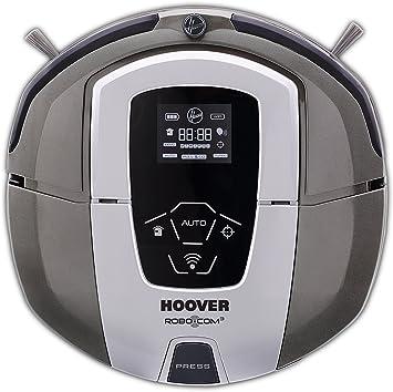 Hoover RBC090 Robot aspirateur (Noir, Gris, Lithium, LCD