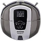 Hoover RBC090/1 Robot Aspirapolvere ROBO.COM3, 0.5 litri, Titanio