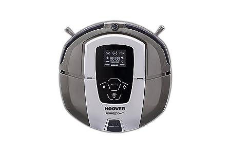 Hoover RBC090 - Robot aspirador con filtro HEPA y WIFI, hasta 120 mins. de autonomía, programable diario/semanal, incluye 2 muros virtuales, color ...