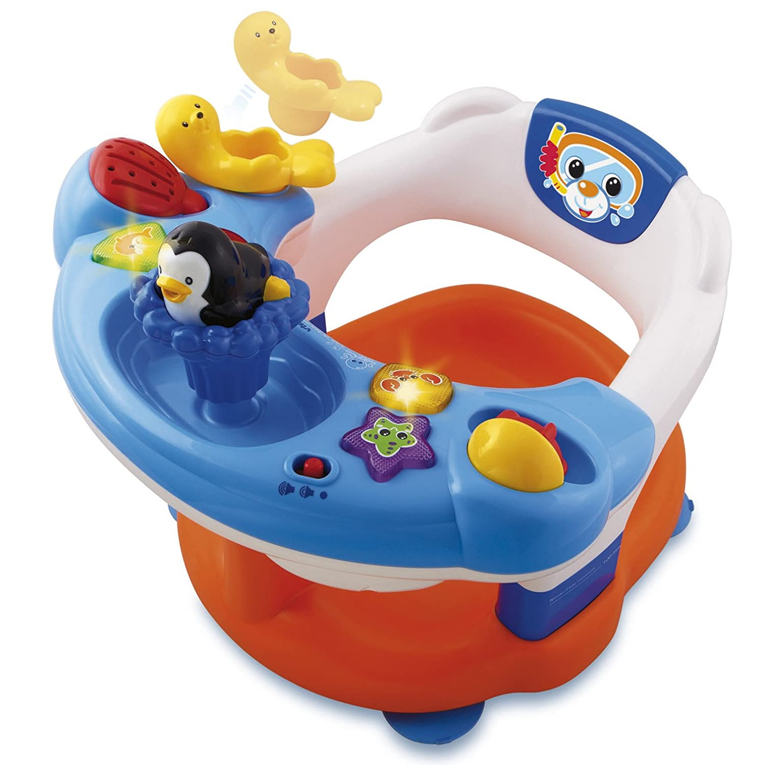 Amazon.com : Vtech 113705 2 in 1 Splashing Fun Bath Seat : Baby