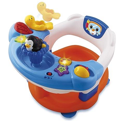 VTech Infantil - Aquasilla, silla de baño para jugar en la bañera, versión francesa